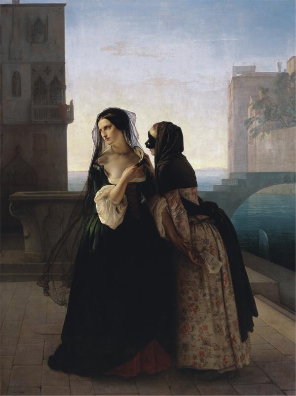 Francesco Hayez, 1851. 237 x 178 cm, Vienna, Liechtenstein Museum