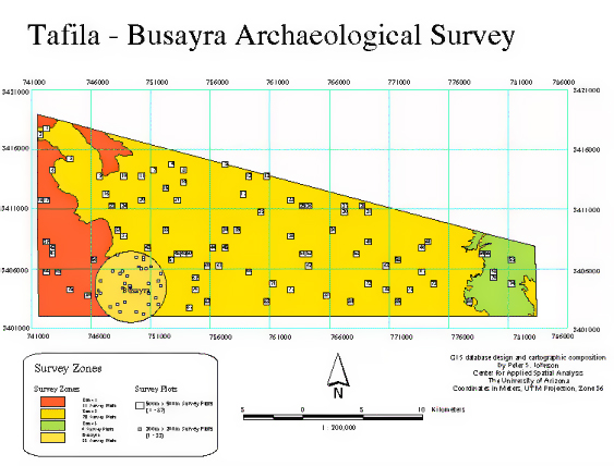 From Burton MacDonald, Tafila-Busayra Archaeological Survey, Phase 2 Report